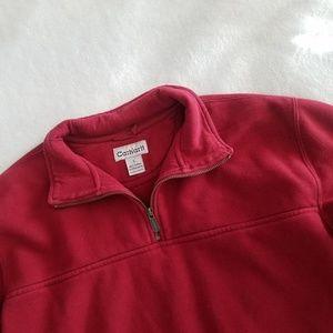 Carhartt Red Quarter Zip